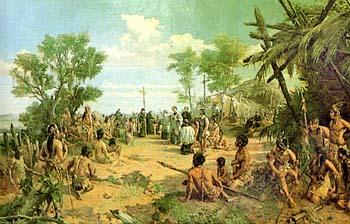 Cristobal Col?n y los que el cre?a indios de Asia