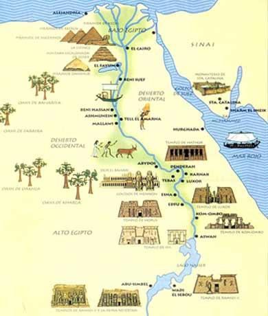 la historia antigua de egipto: