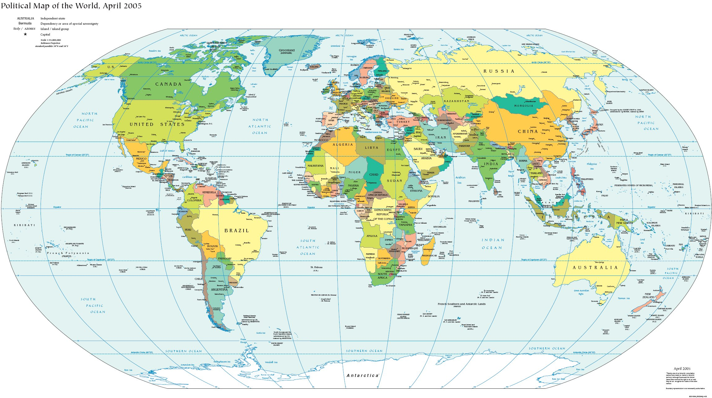 Sesamo Mapas Maps Political Map Of The World